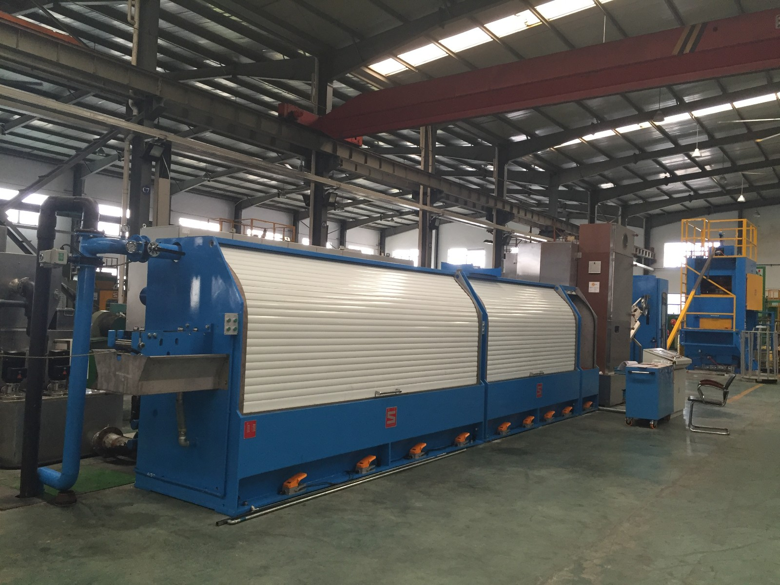 High Speed Rod Breakdown Machine,Non-slip Rod Breakdown Machine