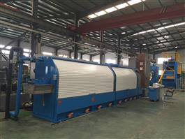 High Speed Single / Double Wire Non-Slip Rod Breakdown Machine