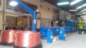 High Speed Single/Double Wire Rod Breakdown Machine