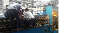 Gear Box Replacement of Multiple Wire Drawing Machine